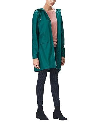 fdb8d7db RAINS Women's Waterproof W Coat | Dark Teal - Color - L/XL at Amazon ...