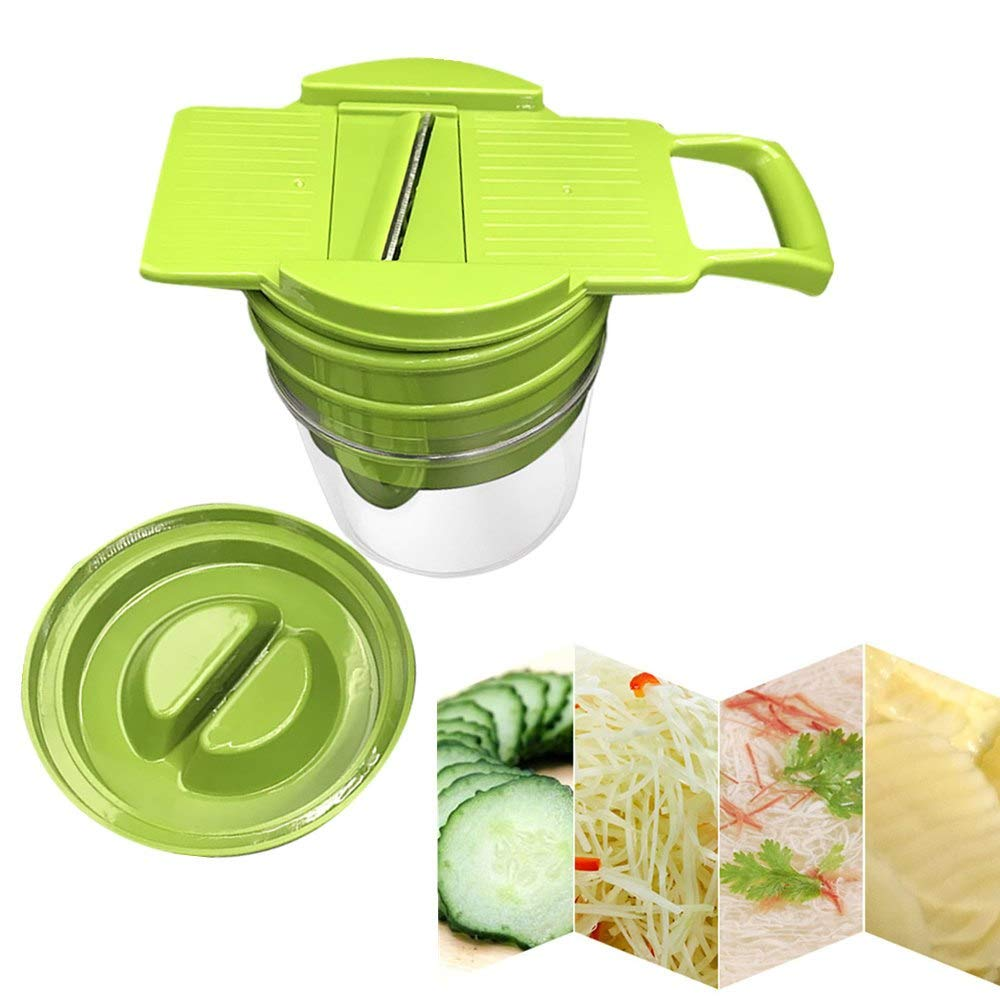 Go Cart Go 1PCS multi-function shredder plastic vegetable peeler double planer grinder grater household kitchen accessories cooking toolsM4 by Go Cart Go (Image #4)