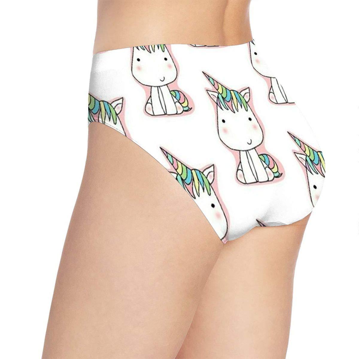 Women OMG Unicorns Underwear Bikini Briefs