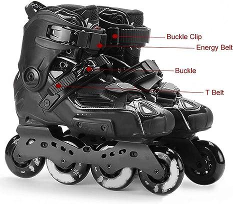 Inline Skating Strap Belt Kit Skate Boot Shoes Energy T Shape Part w// Screw