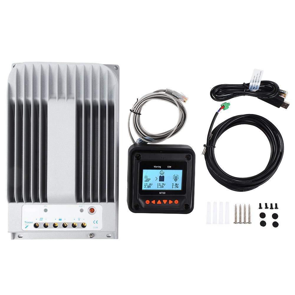 MT50 masse n/égative 4215BN c/âble PC contr/ôleur de panneau solaire Contr/ôleur de charge pour panneau solaire MPPT 12V//24V 40A