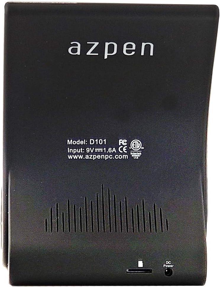 Azpen Dockall D101 QI Wireless Charging Sound Hub with Bluetooth Speaker Black