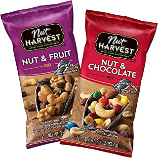 Nut Harvest Trail Mix Variety Pack, 2.25 Ounce (Pack of 16)