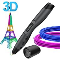 Stylos d'impression 3D, Aerb Impression 3D Stylo avec écran LCD,3D Griffonnage Stylo pour Enfants ou Adultes