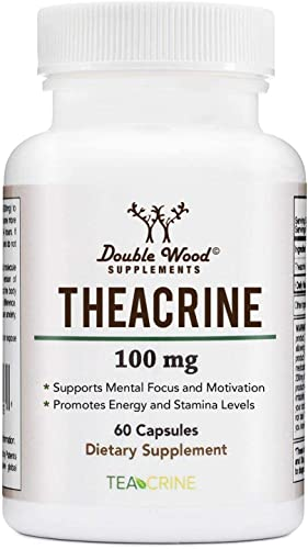 Theacrine Teacrine – Energy and Stamina Boosting Supplement – 100 Mg – 60 Capsules