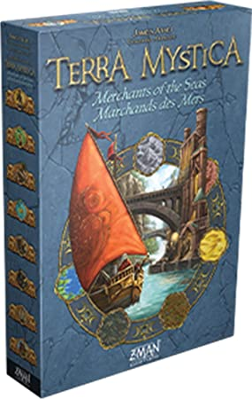 Terra Mystica: Merchants of The Seas Expansion: Amazon.es: Juguetes y juegos