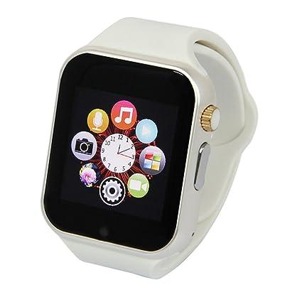 Amazon.com: Bluetooth Smart Watch A1 Bluetooth GSM SIM Phone ...