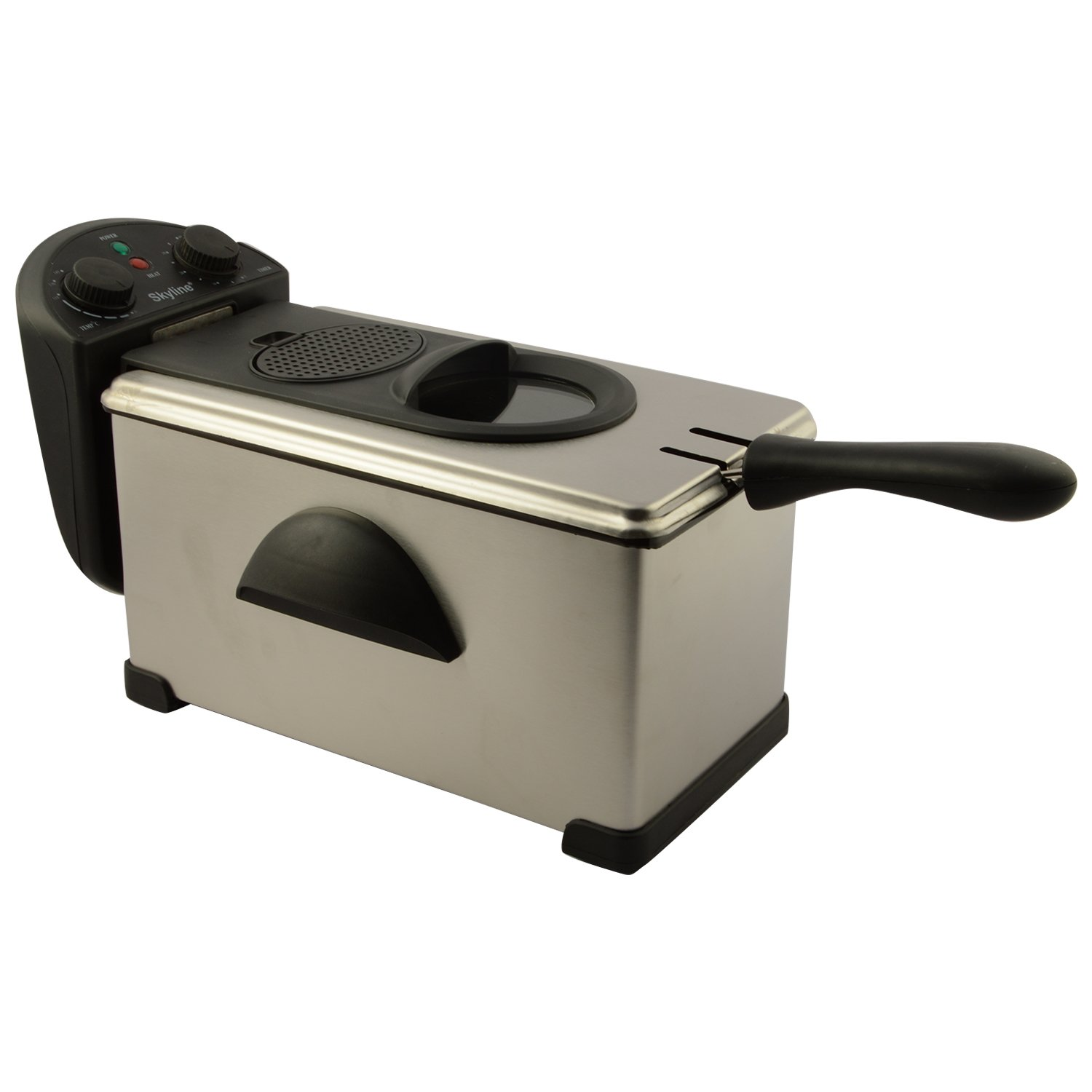 Buy SKYLINE GA 009 3.0 Litre Deep Fryer (Silver) Online At Low Prices In  India   Amazon.in