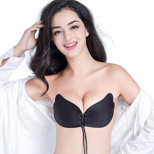 e6a7e68163 YANXEN Silicone Gel Invisible Bra Strapless Backless Adhesive Breast ...