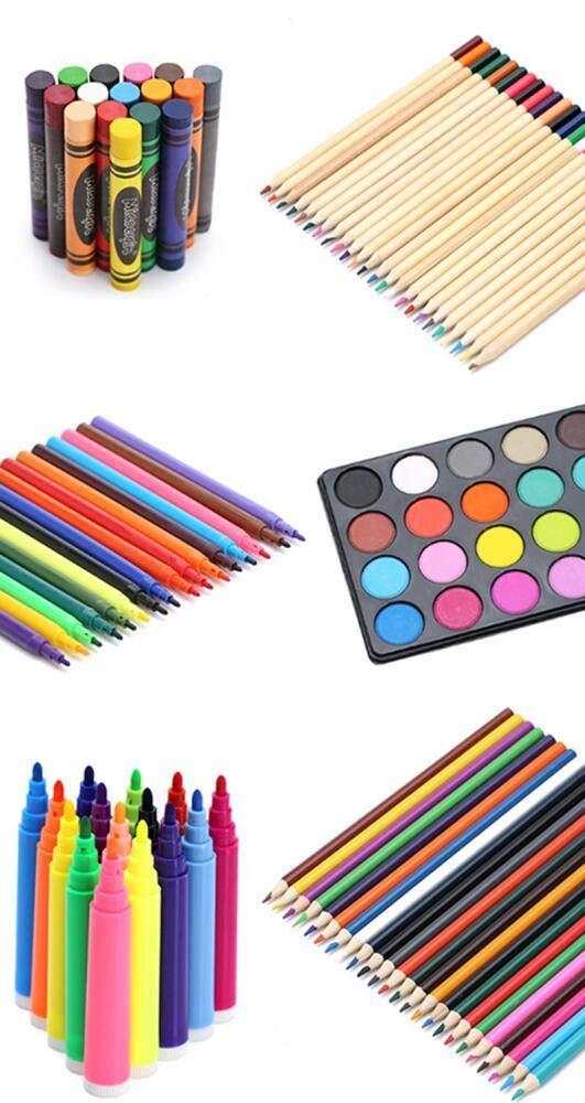 Komplett Malset-Buntstifte Aquarellmalerei Set Set Set 168 Stück Buntstifte Aquarellmalerei für Kinder und Anfänger, die Schreibwaren malen B07PN38LG3 | Mittel Preis  d3c901