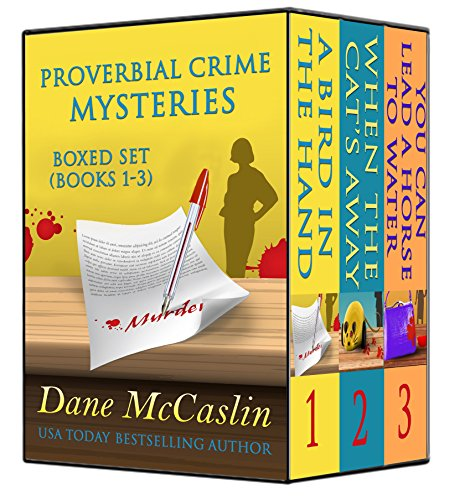 Proverbial Crime Mysteries Boxed Set (Books 1-3) by [McCaslin, Dane]