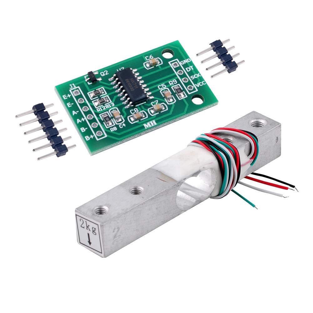 HX711 AD Module De Pesage pour Arduino WIshiot 10kg Poids Capteur Cellule De Charge /Électronique Balance De Cuisine