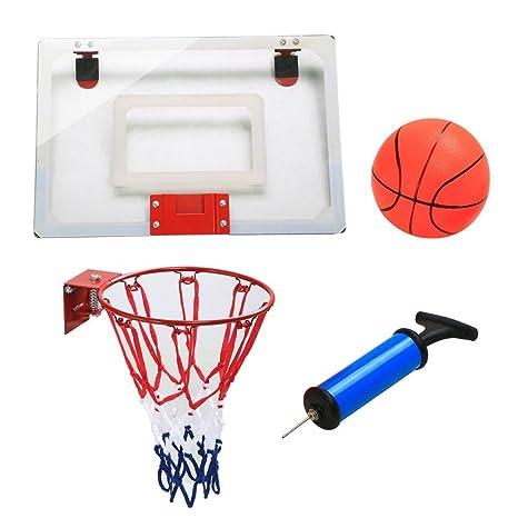 yahee Mini Canasta de baloncesto Anillo Back tarjeta para Indoor ...