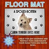 Cairn Terrier Spoiled Floor Mat 24 in X 36 in