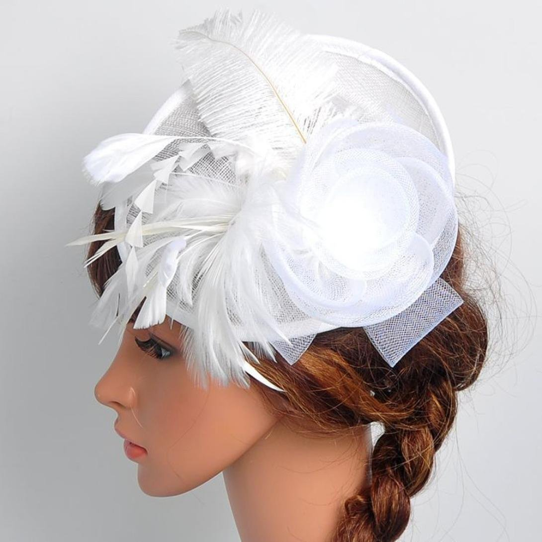 Amazon.com  Cleanrance! Fascinators Hat for Women and Girls a32fade978e