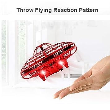 SHENGNONG UFO Flying Ball Toys Hand Flying Flying Ball UFO Mini ...