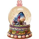 Disney Traditions 4015351 Boule Neigeuse Boule à Neige Bourriquet la Mélancolie Eclate Résine 9,5 cm