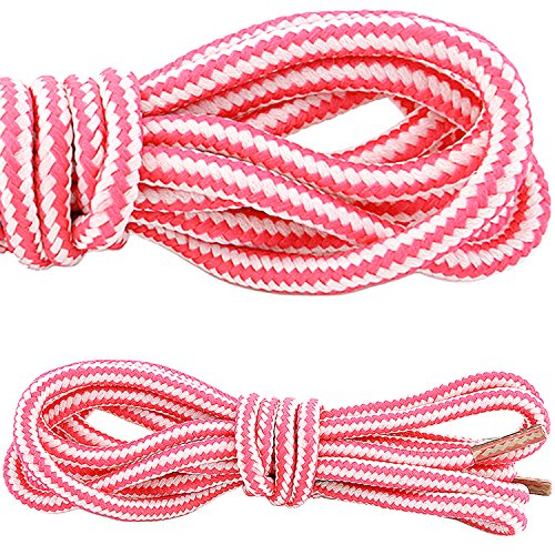 DailyShoes Round Hiking Boot Shoelaces