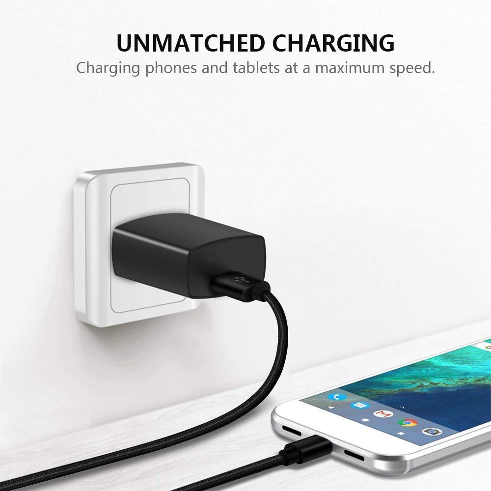 Charger Charging Cord for T-Mobile REVVL 2/REVVL 2 Plus(Not for REVVL,REVVL Plus),LG V30 Q7 Q7+,Oneplus 6T,Alcatel 7,Idol 5S,Motorola One,Razer Phone ...