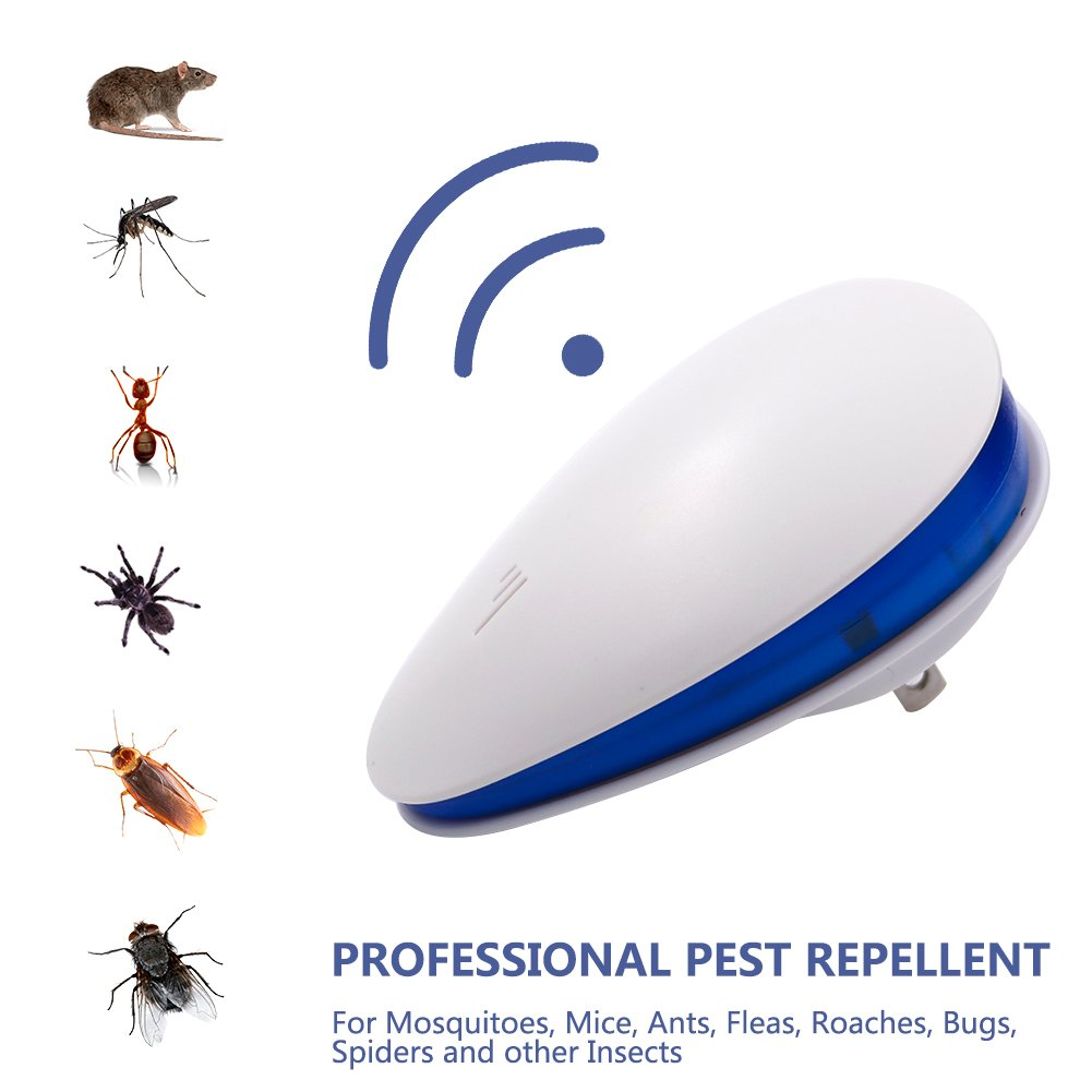 Ailemi Ultrasonic Pest Repeller Electronic Plug In Mosquito Repellent Circuitbest Repellentindoor To Repel Mosquitoes Mice Roaches Flies Bugs Lizards And Other Insects2