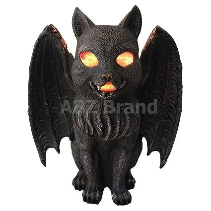 Gargoyles Winged Cat Gargoyle Garden Sculpture Statue Figurine Myth Fantasy Home Decor New