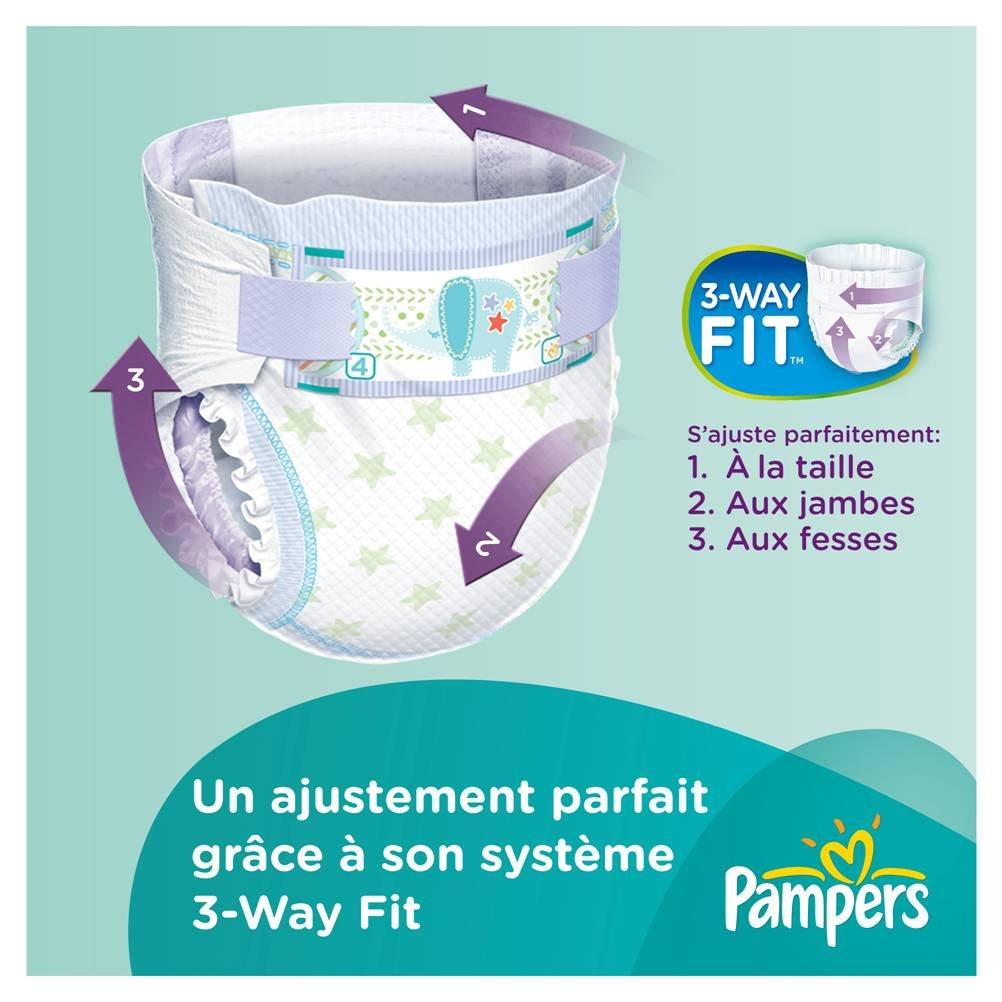 Pampers 81371245 - Paquete de pañales (talla 3: 4-9 kg, 100 unidades): Amazon.es: Salud y cuidado personal