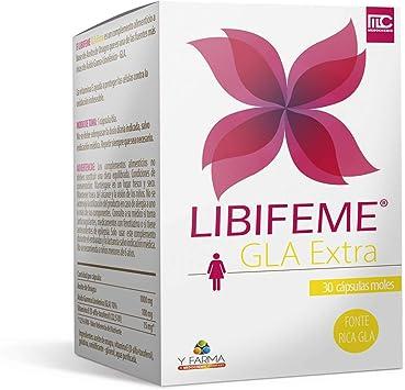 LIBIFEME GLA Extra - Reduce los Sintomas del Sindrome Premenstrual ...