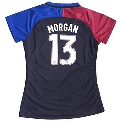 2016-2017 Alex Morgan #13 USA National WOMENS Away Jersey (Medium)