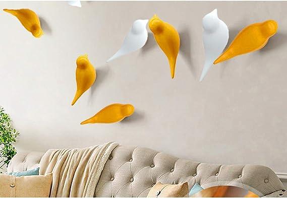 Decorazione Rustico Uccello Gancio Appendiabiti per Cappello Asciugamano Regalo Porta della Camera /Appendiabiti a Pezzi da Parete Crafteam Resina Uccello/