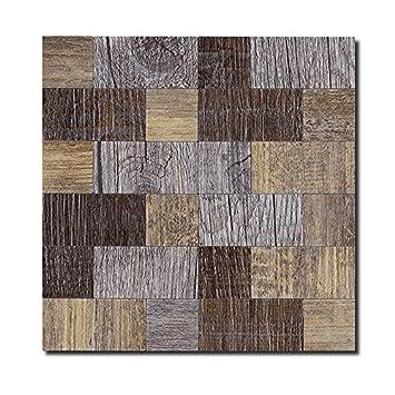 Peel and Stick Kitchen Backsplash Tile, Self-adhesive Tiles for Wall  Decorative (Rectangle, Sample)