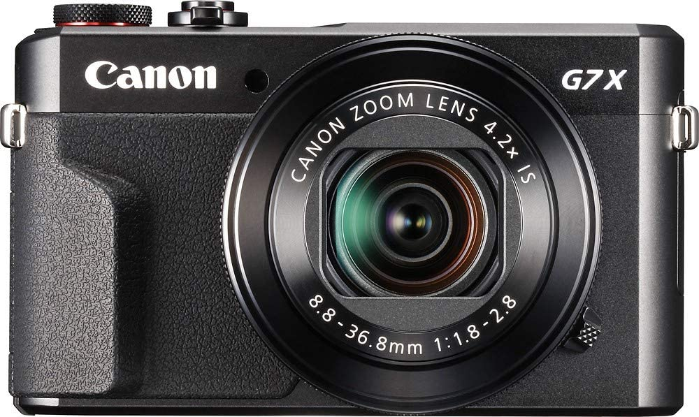 Canon G7X Mark II Video camera for artists and influencer