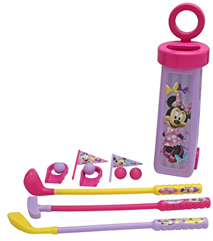 Amazon.com: Lo que quieren Kids Minnie Mouse Golf Caddy ...