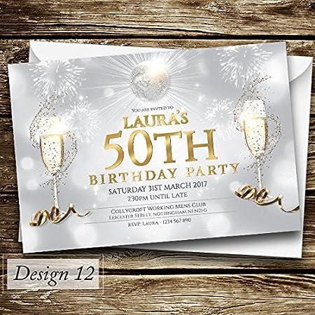 Invitaciones de cumpleaños personalizadas/Invitaciones para ...