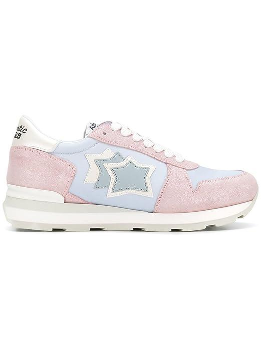 Atlantic Stars Gemma, Damen Sneaker RosaAzzurro: