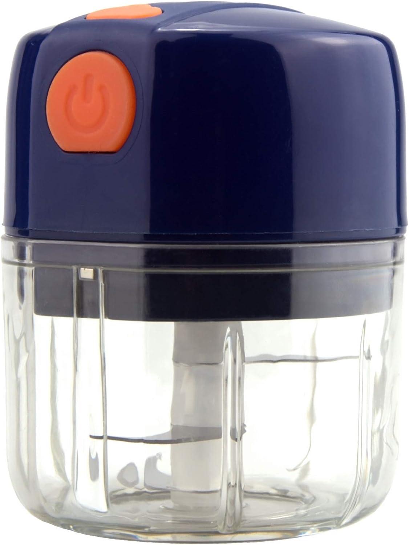 Electric Mini Food Chopper,Wireless Portable Garlic Press,Food Processor/Meat Chopper/Grinder,for Onion/Fruit/Vegetable/Salad/Garlic/Ginger/Boneless/Pepper
