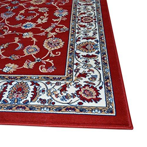 WEBTAPPETI.IT Tappeto Classico Economico Disegno Orientale Persiano Tappeto  Soggiorno Royal Shiraz 2079-RED 140x210