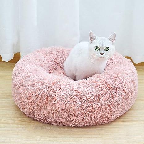 Calmante Mascota Cama para Perros, Rosquilla Camas De Gatos ...