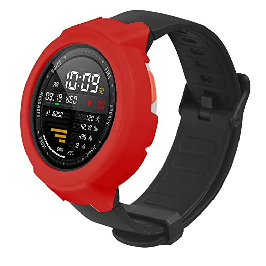 Amazon.com: Weiyun Ultra Thin PC Hard Protection Bumper Full Case Cover for Huami Amazfit Verge: GPS & Navigation