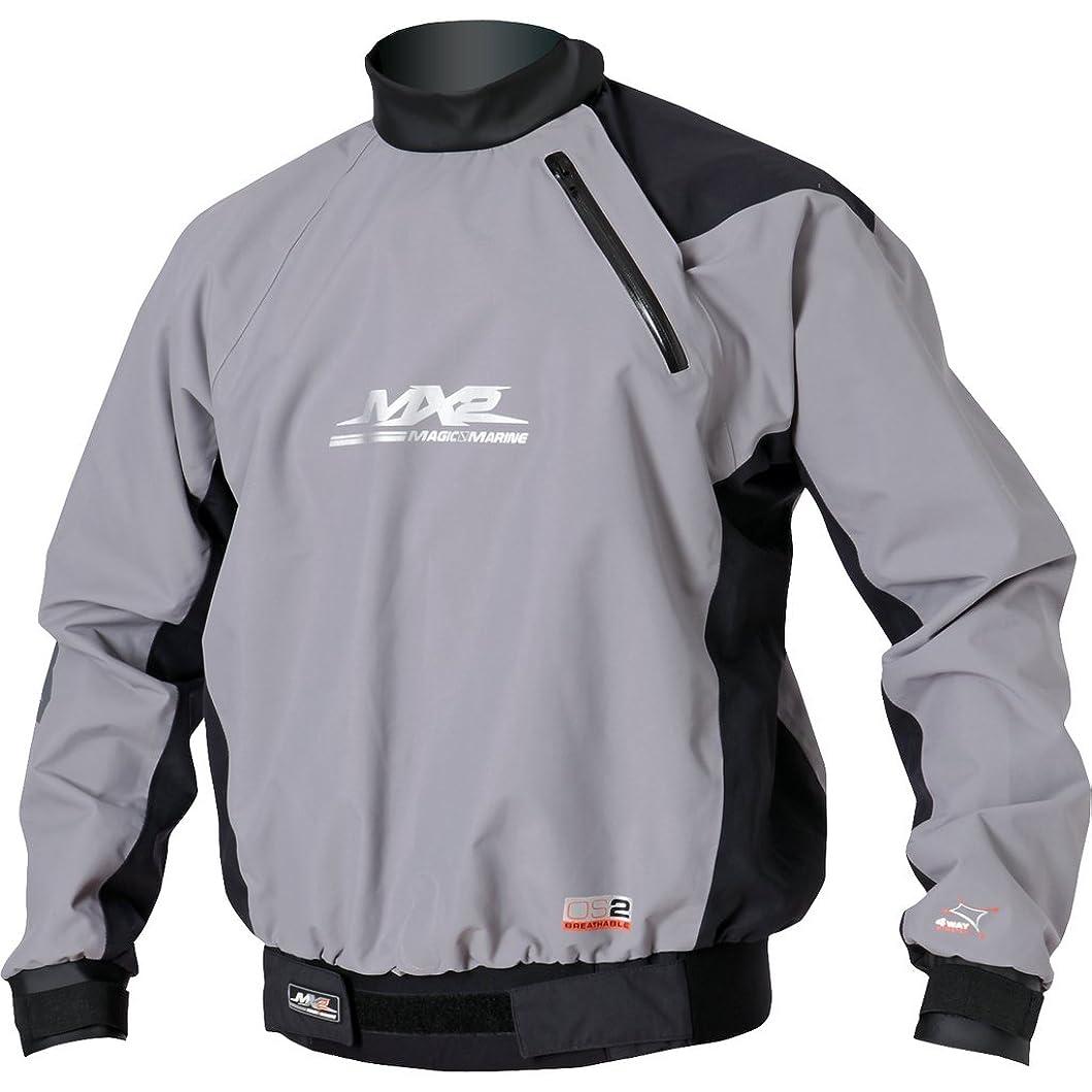 フルーティーうんざり居住者MYSTIC(ミスティック) Windstopper Overlay For Wetsuit/drysuit [35002.120470] メンズ マリンスポーツウェア スプレートップ