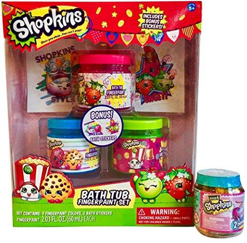 Shopkins 2-PC Art & Play Bundle -1 Creative Finger Art Set