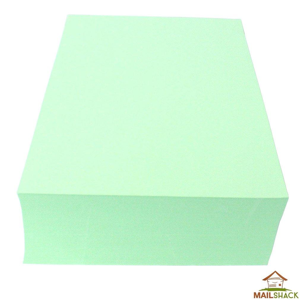 250 Sheets A4 CANARY YELLOW Coloured Card 230gsm Colour Craft Copier Printer