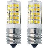 Grv E17 Led Bulb Microwave Oven Light 4W AC 110V -120V 64-2835 SMD Ceramics Bulbs 40W Equivalent Replacement…