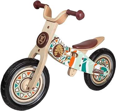 WOOMAX - Bici sin pedales en madera Indian 12