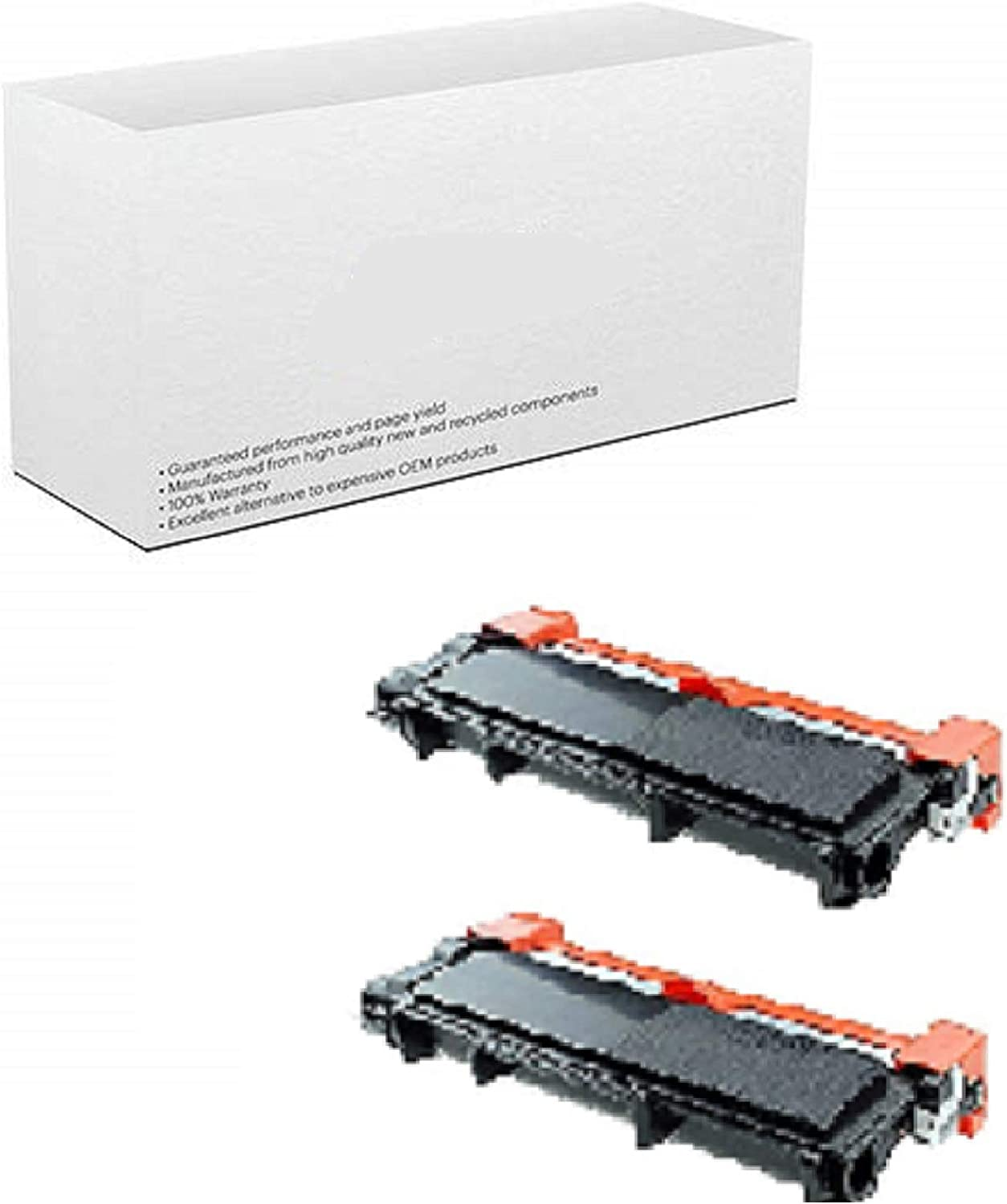 AM-Ink Compatible Toner Cartridge Replacement for Brother TN630 TB-630 TN660 TN-660 High Yield MFC-L2720DW MFC-L2740DW Printer 2-Pack