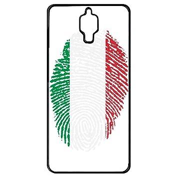 Carcasa Xiaomi Mi 4 huella dactilar bandera de Italia Italy ...