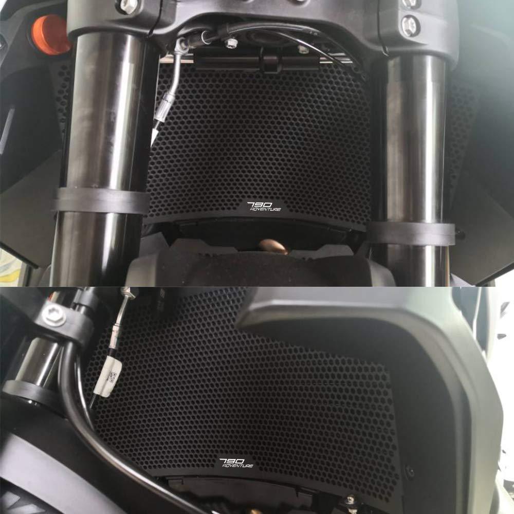 790 Adventure CNC Tapa del Tanque de Agua de La Motocicleta para KTM 790 Adventure R//S 2019-Negro