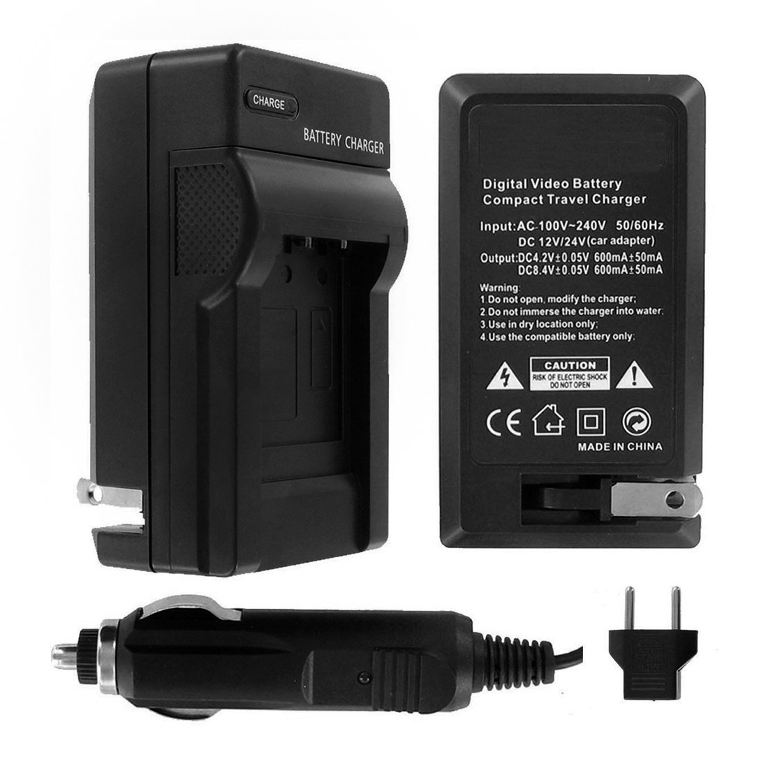 Ultrapro Nikon D3100 Digital Camera Battery Charger Power Connector Cover From 110 220v With Car Eu Adapters Replacement For Mh 24