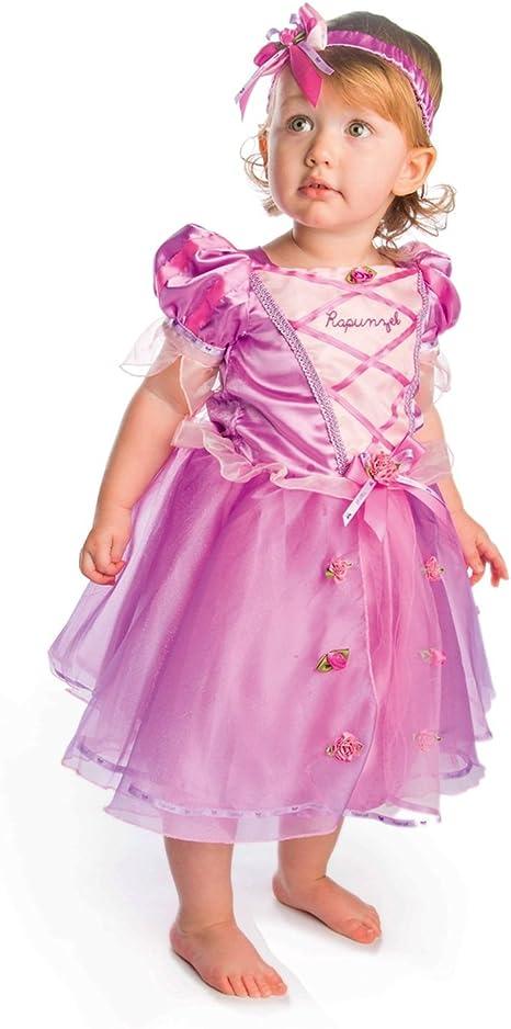Disney Princesas Disfraz Rapunzel lujo talla, 12-18 meses, color ...