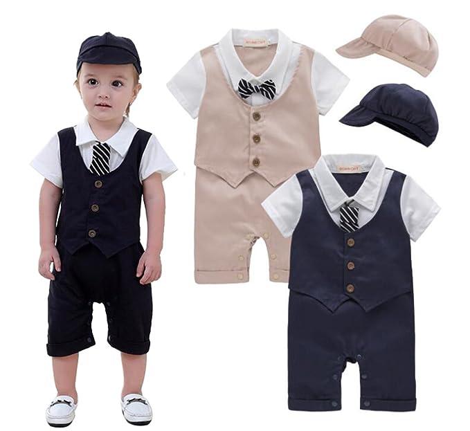 Amazon.com: EGELEXY - Chaleco de corbata para bebé, diseño ...