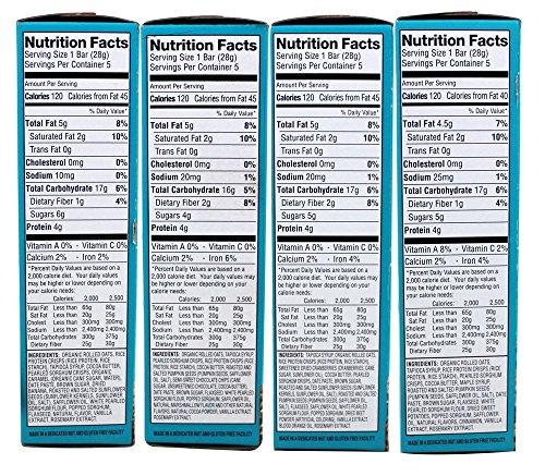 Enjoy Life Foods - Crispy Grain & Seed Bars Variety Pack - 4 Box(s)